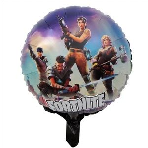 Other - Fornite 6pc Set Mylar Foil Balloons